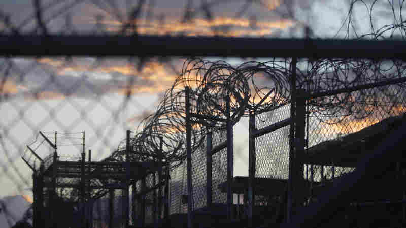 Dawn at the now closed Camp X-Ray, which was used as the first detention facility for al-Qaida and Taliban militants who were captured after the Sept. 11 attacks at Guantanamo Bay Naval Base, Cuba.