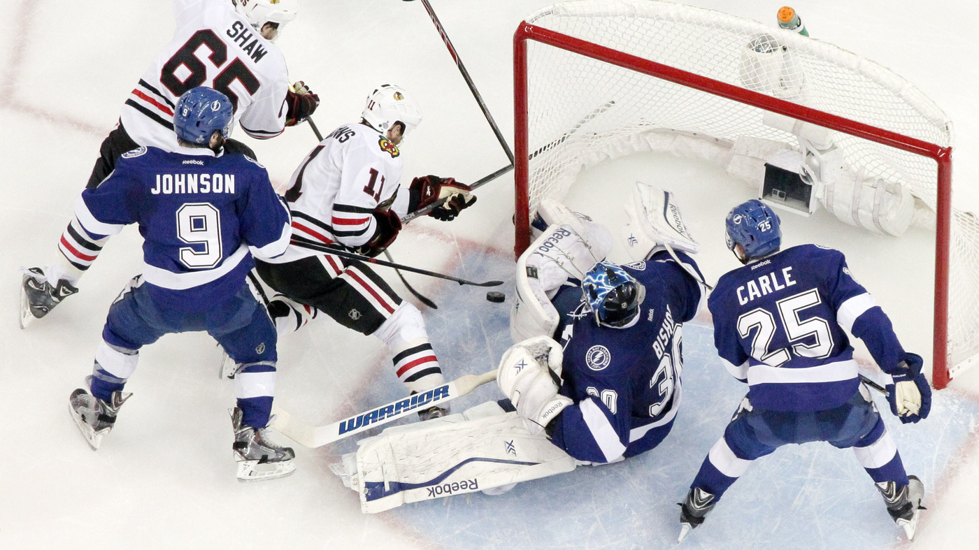 7db9ec3b Chicago Blackhawks Take Home 3rd Stanley Cup In 6 Years With 2-0 Win : The  Two-Way : NPR