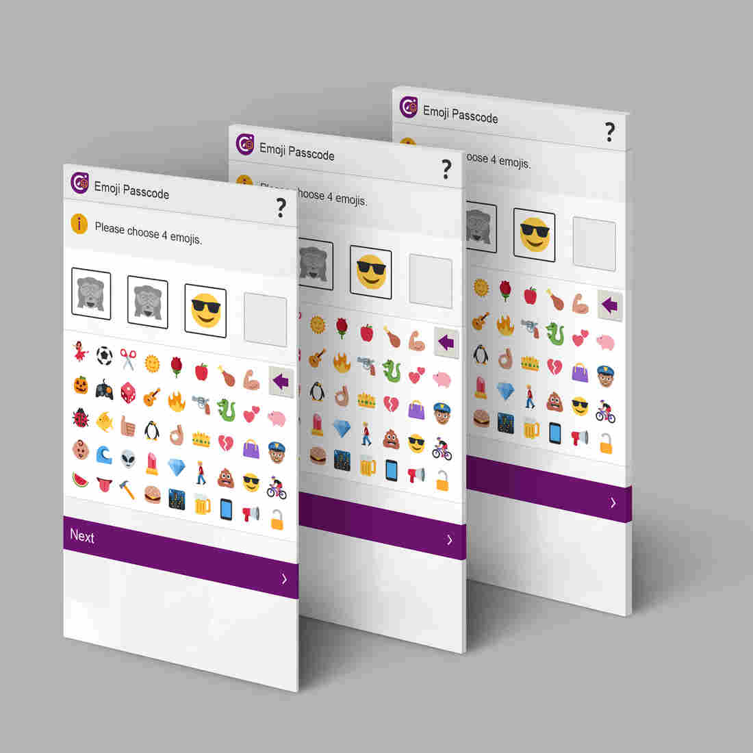 A UK banking services provider says emoji passwords will be easier to remember and safer than numeric or letter-based codes.