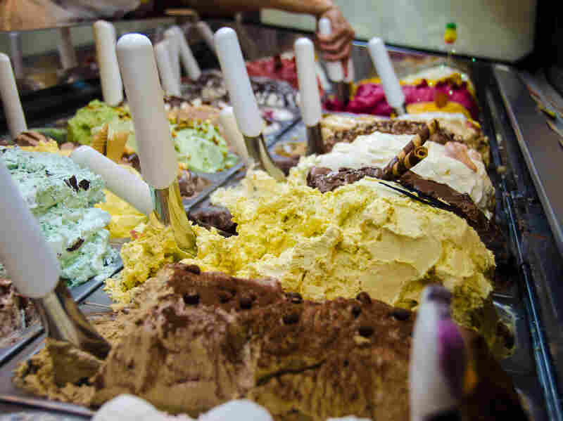 Italian gelato is smoother and silkier than its American counterpart. It's also denser, but has elasticity and fluidity, says Morgan Morano, author of The Art of Gelato.
