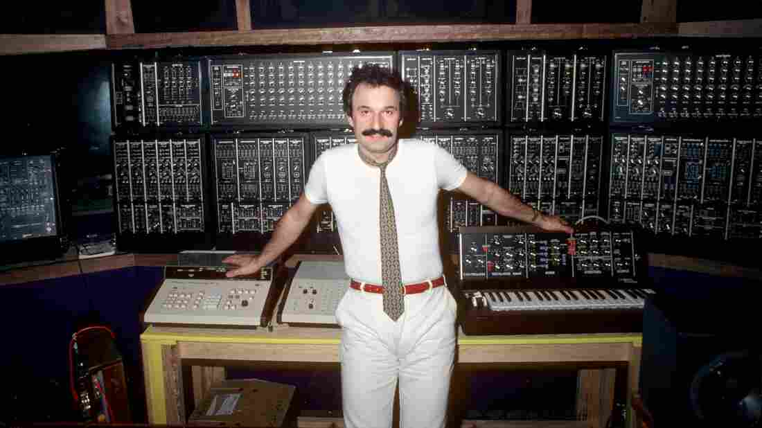 """Giorgio Moroder in 1979, the year his longtime collaborator, the singer Donna Summer, had a hit with """"Hot Stuff."""""""