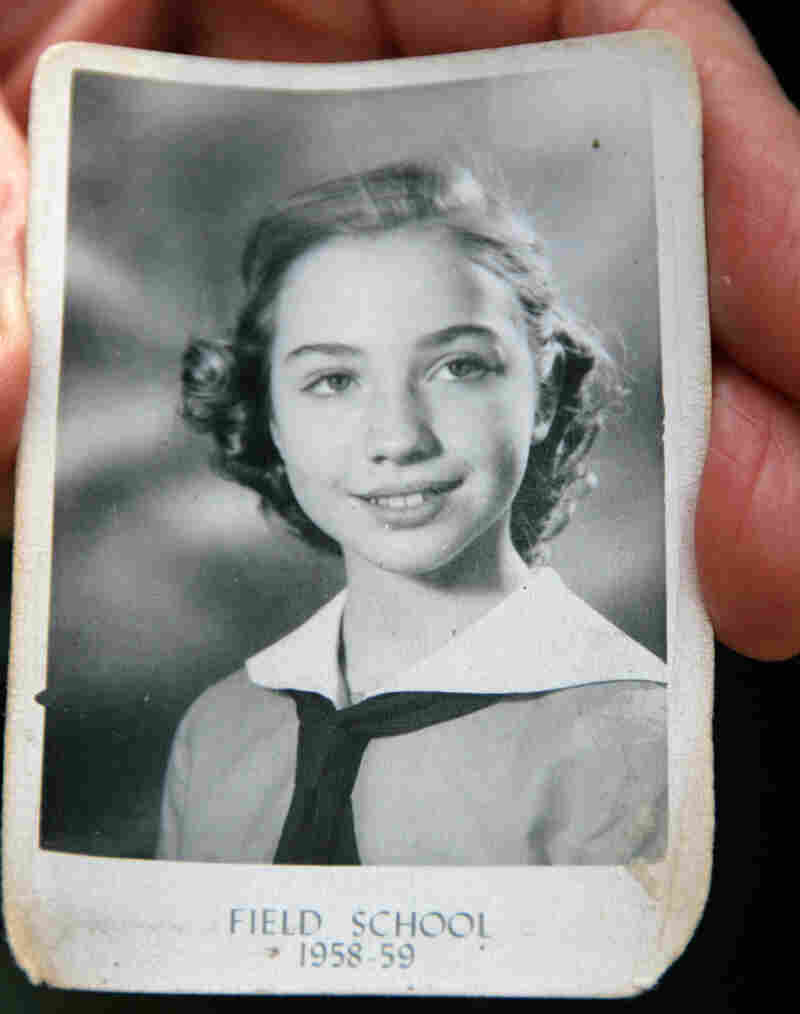 A school picture of young Hillary Rodham in the late '50s, when she would have been around 11 years old.