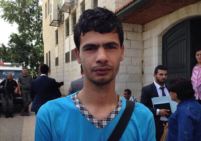 The indictment against 24-year-old Palestinian Ayman Mahareeq says comments he posted on Facebook illegally insulted the West Bank police force and the Palestinian Authority, which governs the West Bank.