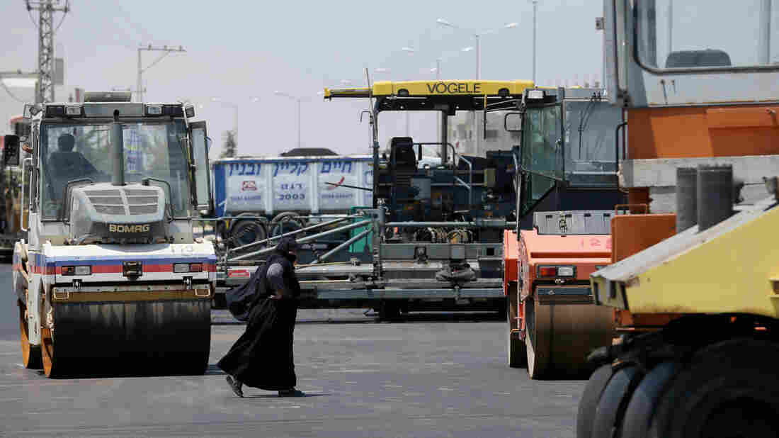 Qatar is funding multiple projects in the Gaza Strip, including a new road in Rafah, a town at the southern end of the territory that borders Egypt.