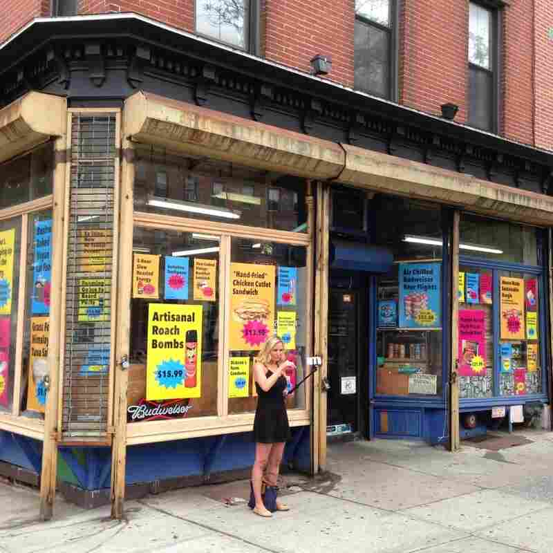 Jesse's Deli in Brooklyn, NY, where neighborhood supporters are looking for a way to keep the corner store in business after a rent increase.