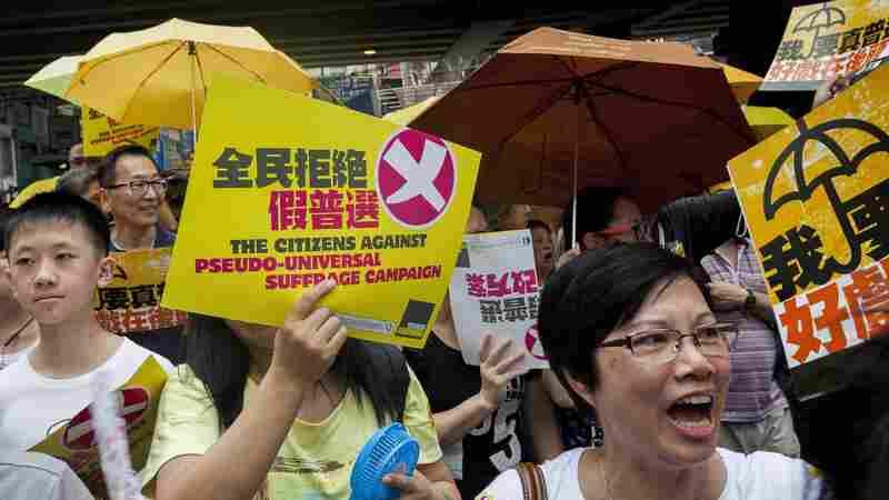 Beijing Brushes Aside Hong Kong's Rejection Of Electoral Reform