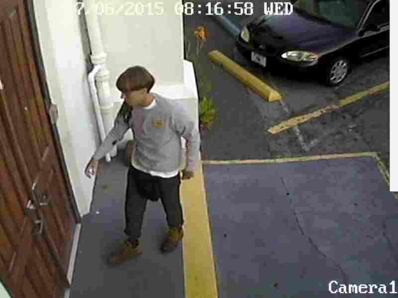 Police described the suspect as a white man in his 20s. He was seen entering the church before the shooting.