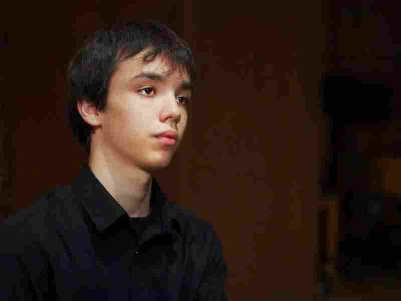 Seventeen-year-old Adam Balogh, from Hungary, is in the Cliburn Junior Competition.