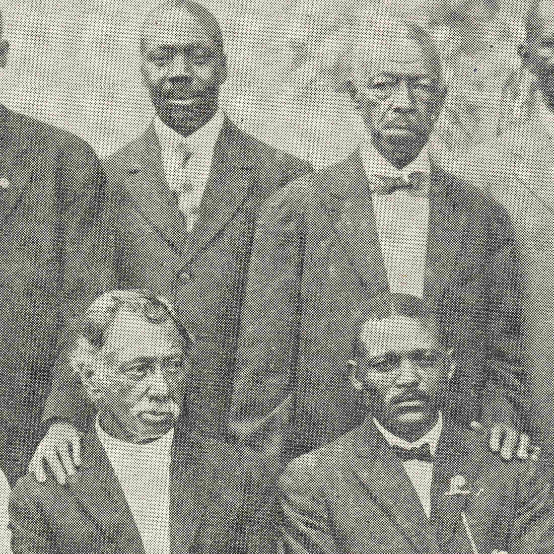This image of the trustees of Emanuel AME appeared in the 1916 book, Centennial Encyclopedia of the African Methodist Church, by Richard R. Wright.