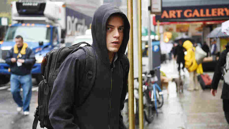 USA's Mr. Robot tells the story of a cyber-security engineer and vigilant hacker (played by Rami Malek) who also suffers from anxiety.