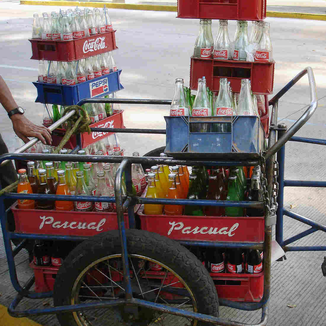 Mexico's Sugary Drink Tax Makes A Dent In Consumption, Study Claims