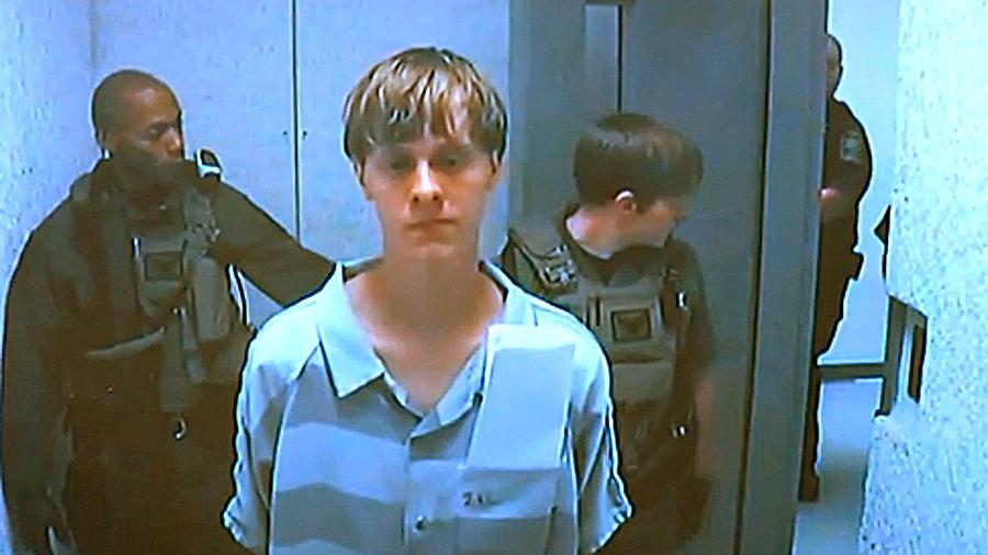 1 Million Bond For Charleston Church Shooting Suspect