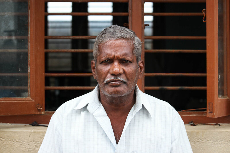 Ganesan, 62, is a father of four daughters.