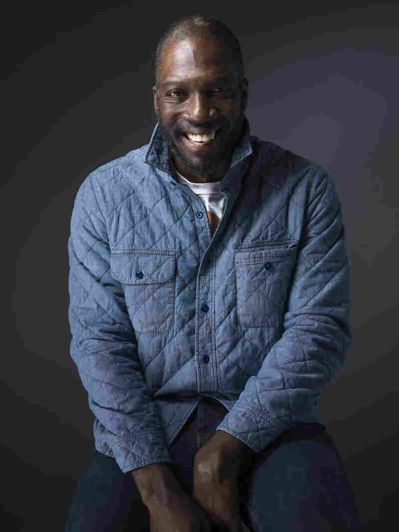 Film director Rick Famuyiwa poses for a portrait to promote the film, Dope, during the Sundance Film Festival in Park City, Utah.
