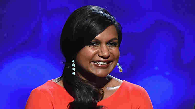 Mindy Kaling speaks at the 66th Primetime Emmy Awards Nominations on July 10, 2014 in North Hollywood, Calif.