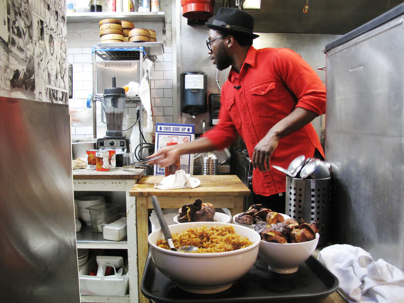 Cooking across america nigerian pop up chef spreads taste of home chasing food dreams across us nigerian chef tests immigration system forumfinder Gallery