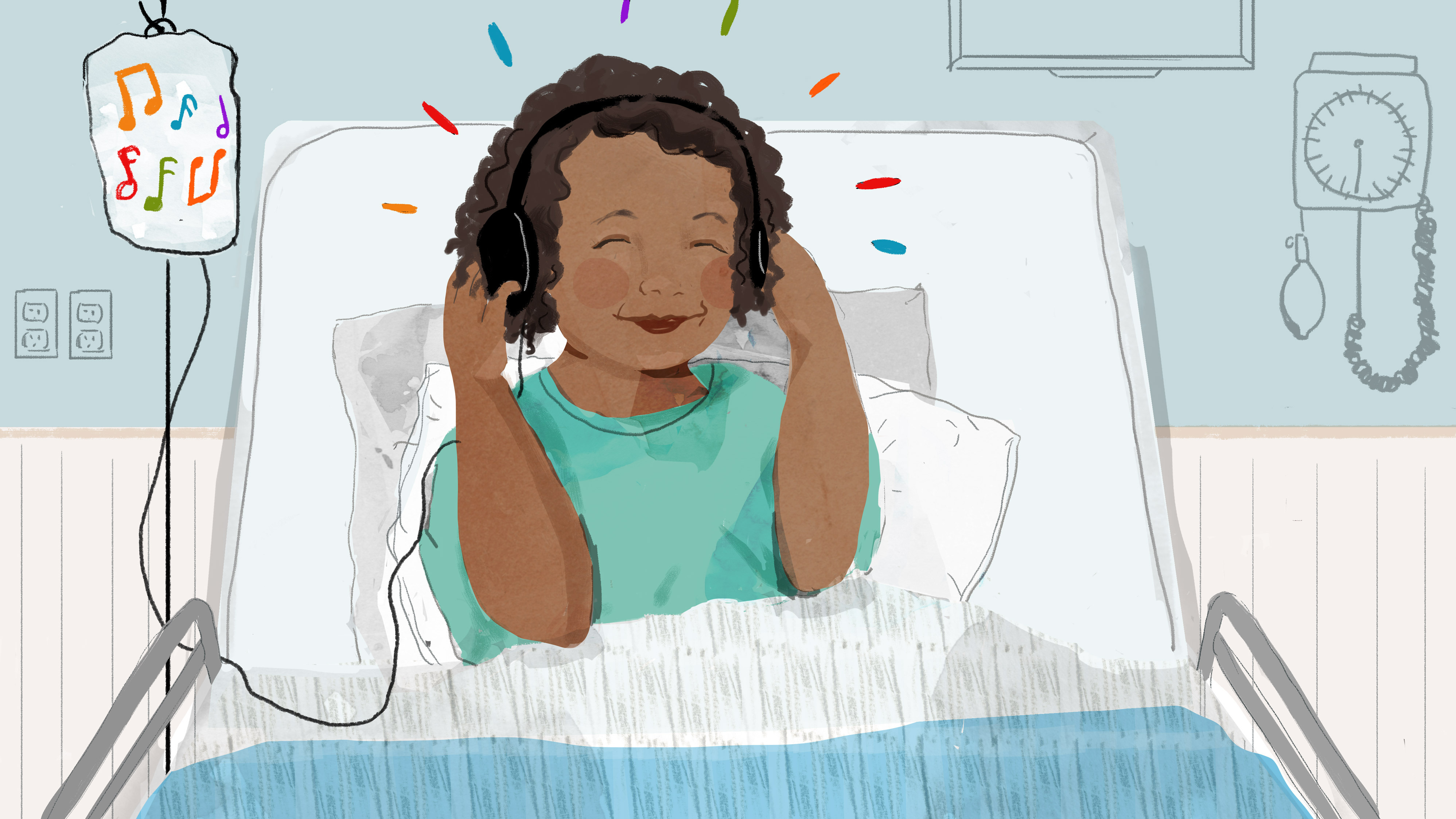 To Ease Pain, Reach For Your Playlist