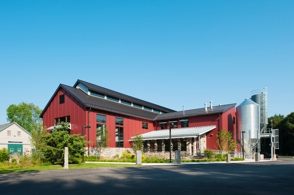 The Smuttynose Towle Farm brewery in Hampton, N.H., has an invisible but tight envelope that keeps the interior temperature consistently cool or warm, prevents energy loss and ultimately saves money. (Courtesy of Smuttynose Brewing Company)