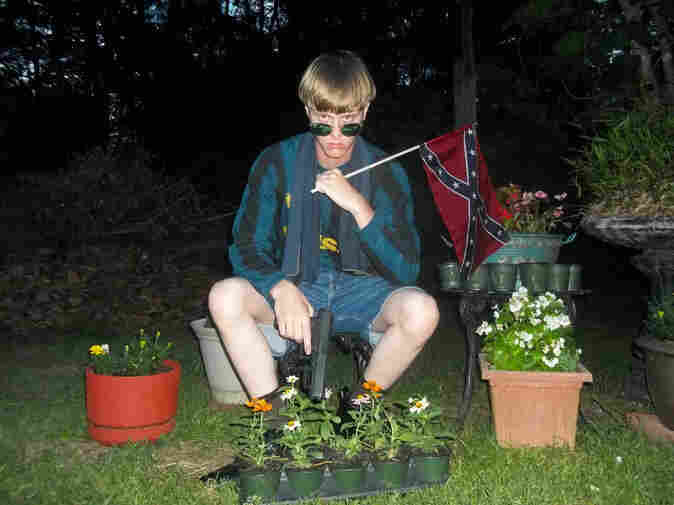 """A photo from the website """"The Last Rhodesian"""" appears to show the Charleston church shooting suspect. The website contains a lengthy racist manifesto."""