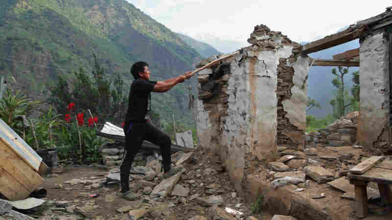 In a remote area of Nepal, Bal Gurung tries to rebuild his life.