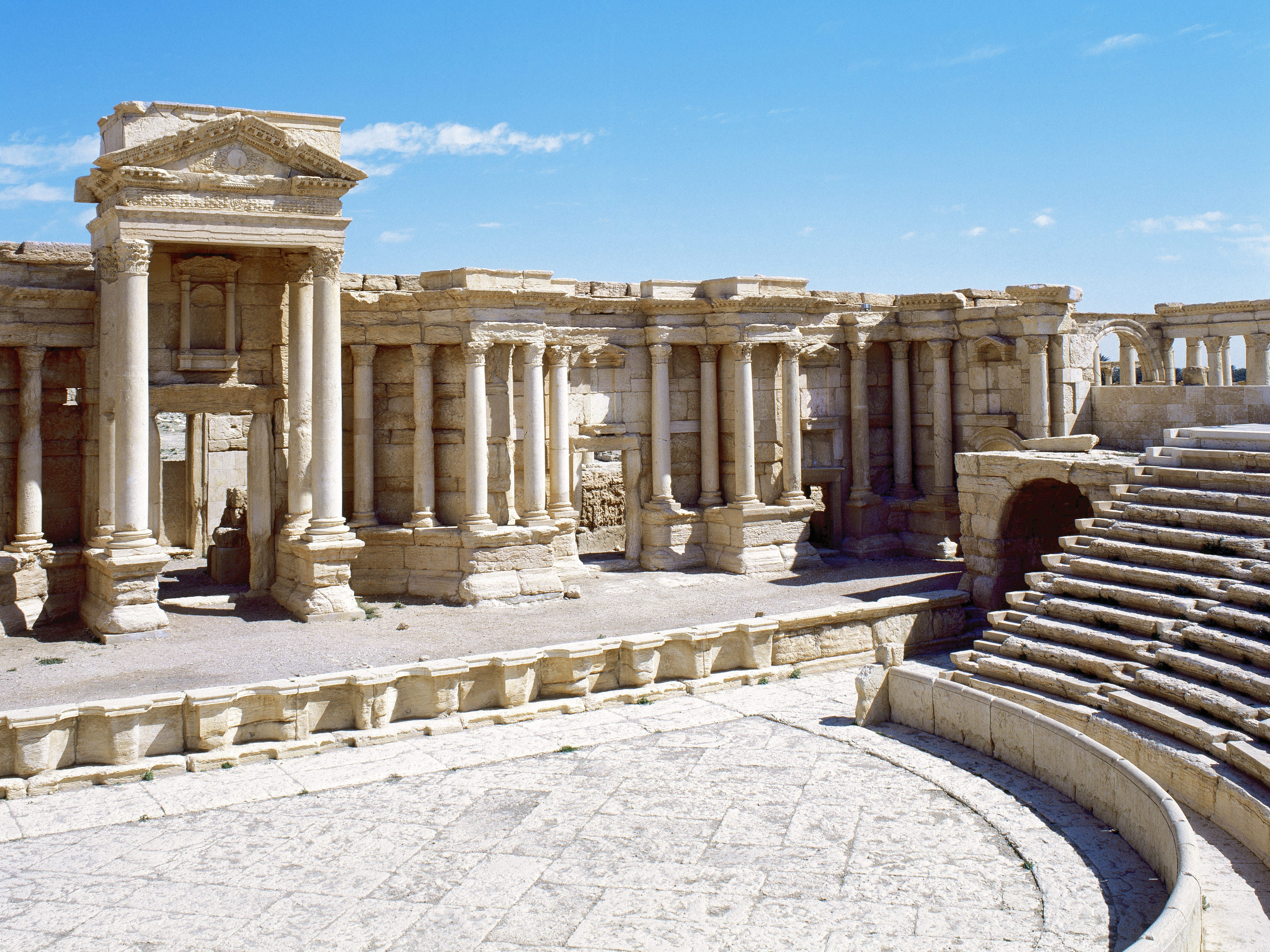 Report: ISIS Lays Mines Around Ancient Sites In Palmyra