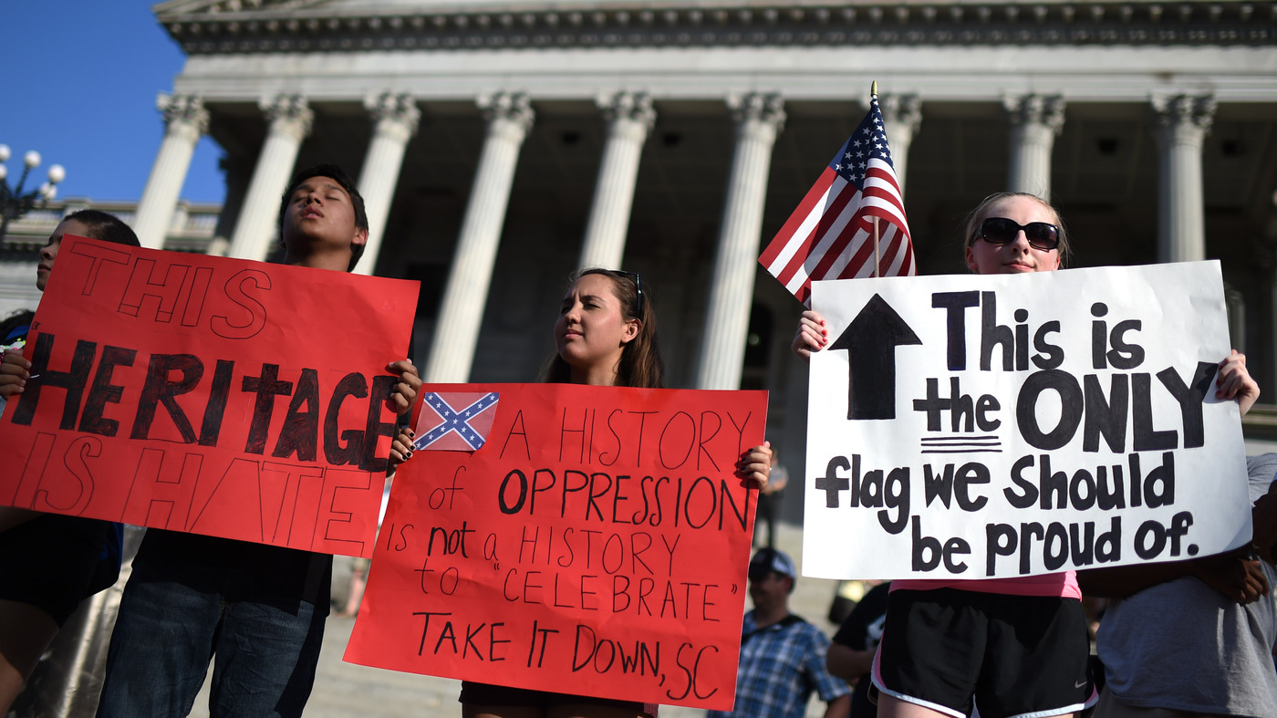 The complicated political history of the confederate flag its the complicated political history of the confederate flag its all politics npr biocorpaavc