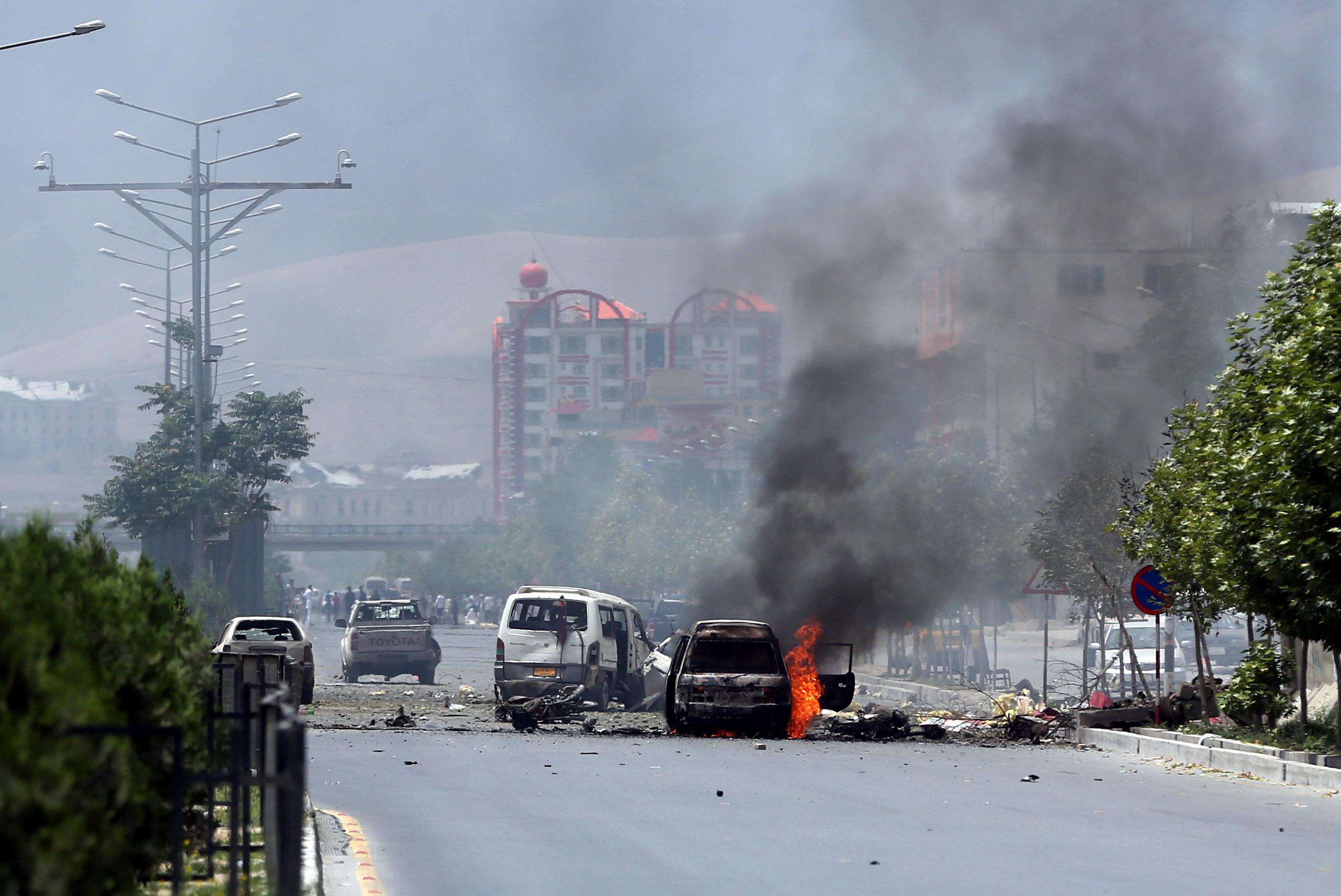 Taliban Militants Attack Afghan Parliament In Kabul