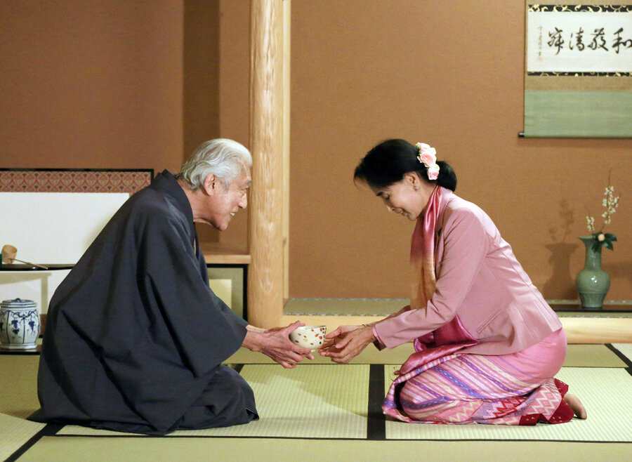 In The Japanese Tea Ceremony, Politics Are Served With Every Cup
