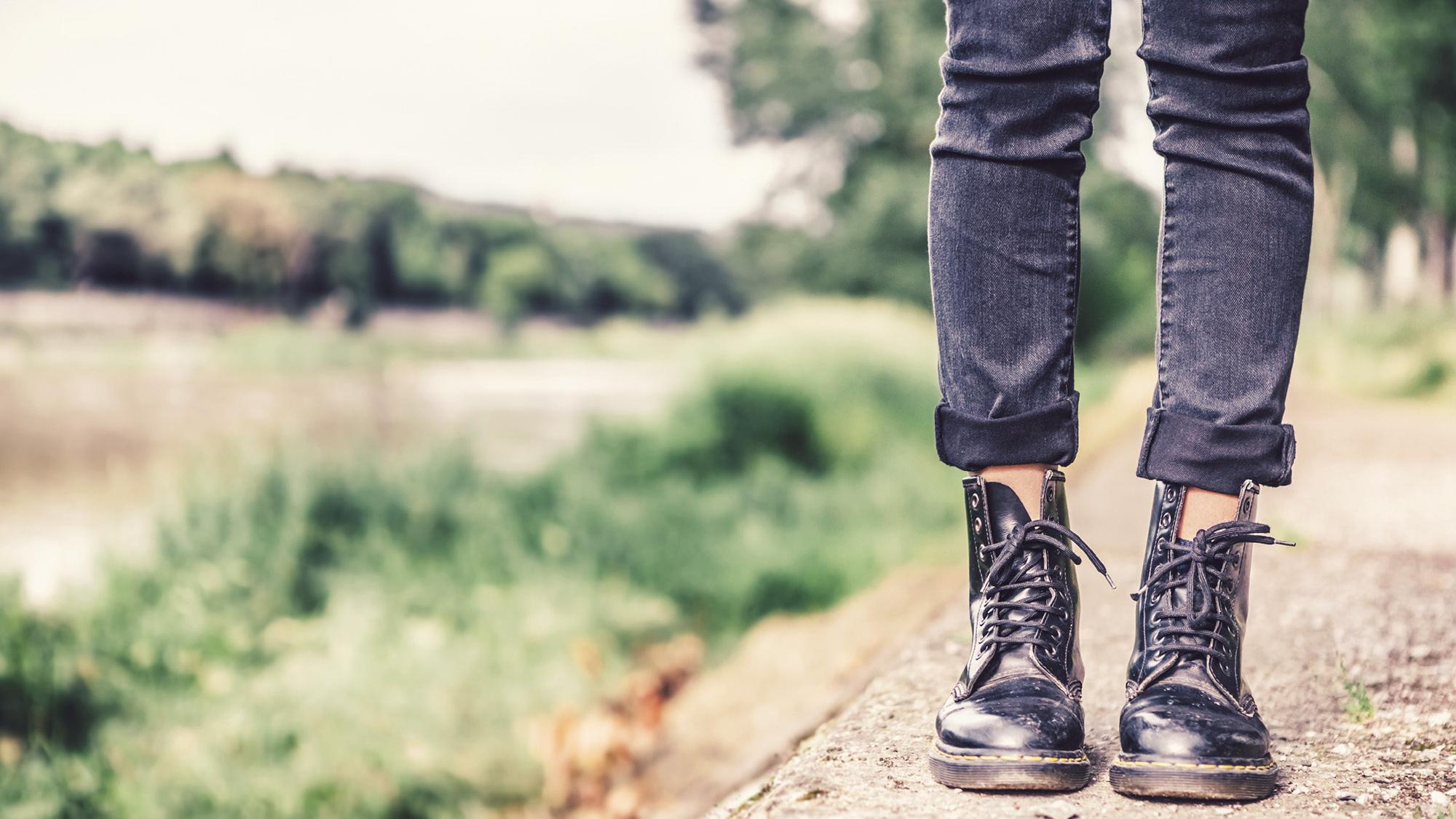 Woman in skinny jeans hospitalized