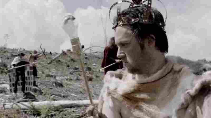 """Isaac Brock appears in a scene from Modest Mouse's latest video, """"The Ground Walks, with Time in a Box."""""""