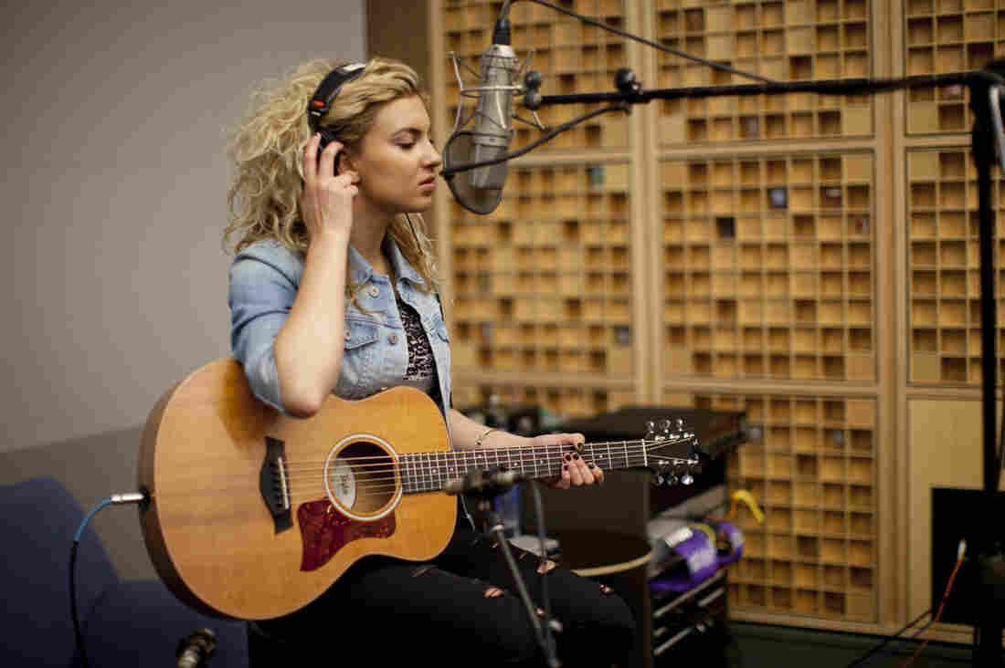 Pop singer Tori Kelly, whose debut album is called Unbreakable Smile, stopped by the NPR studios to perform music from the album and talk about growing up in the industry.