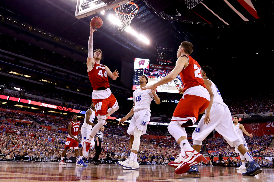This year's ESPN NCAA basketball coverage did not shy away from talking about the ordinarily sensitive topic of betting as much as it has in the past. (Streeter Lecka/Getty Images)