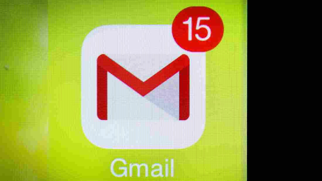 The Google Mail smartphone icon