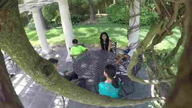 Announcing his presidential candidacy Wednesday, Gov. Bobby Jindal posted a video, that appears to be shot from a tree, of him and his wife telling their children he's decided to run.