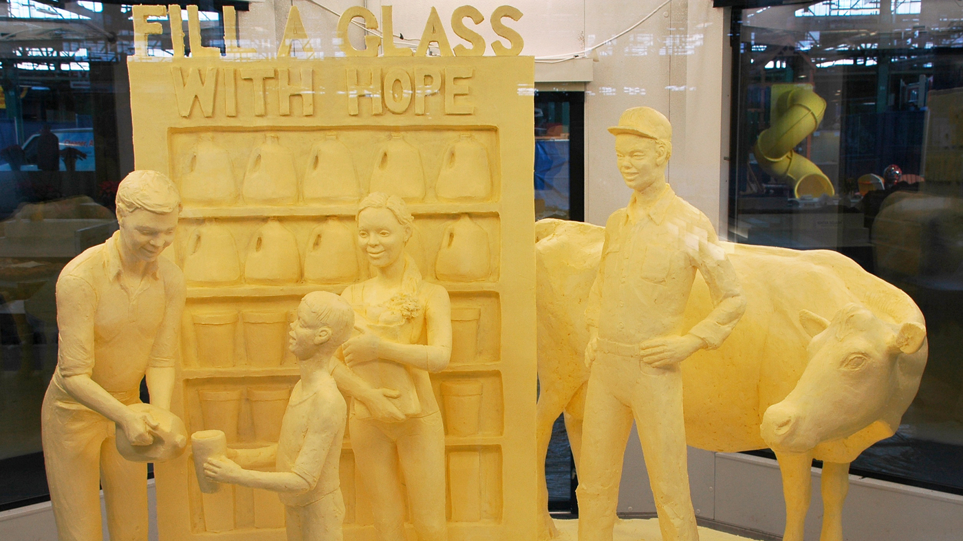 A Toast To Butter Sculpture, The Art That Melts The Hearts Of The ...