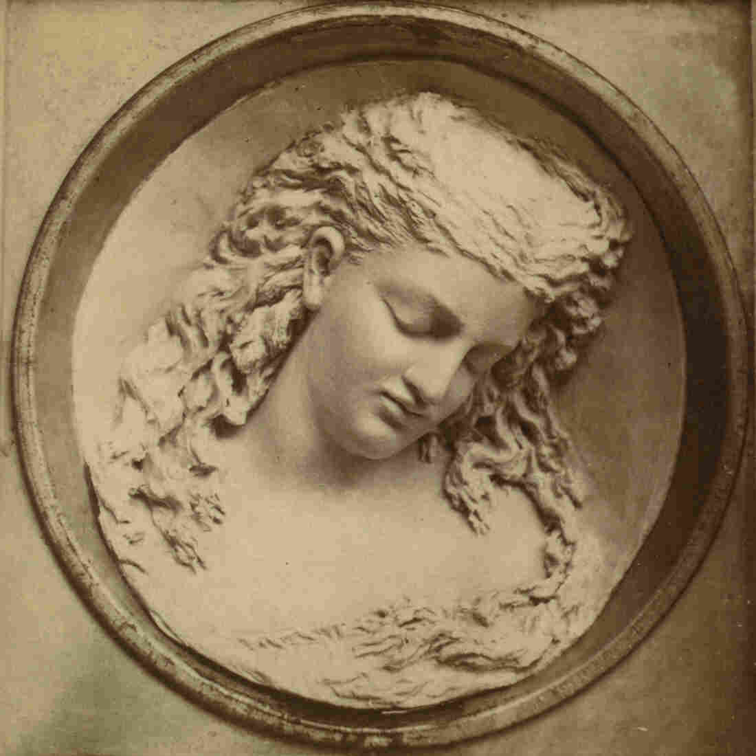Dreaming Iolanthe, a butter sculpture created by Caroline Brooks for the Philadelphia Centennial Exposition in 1876