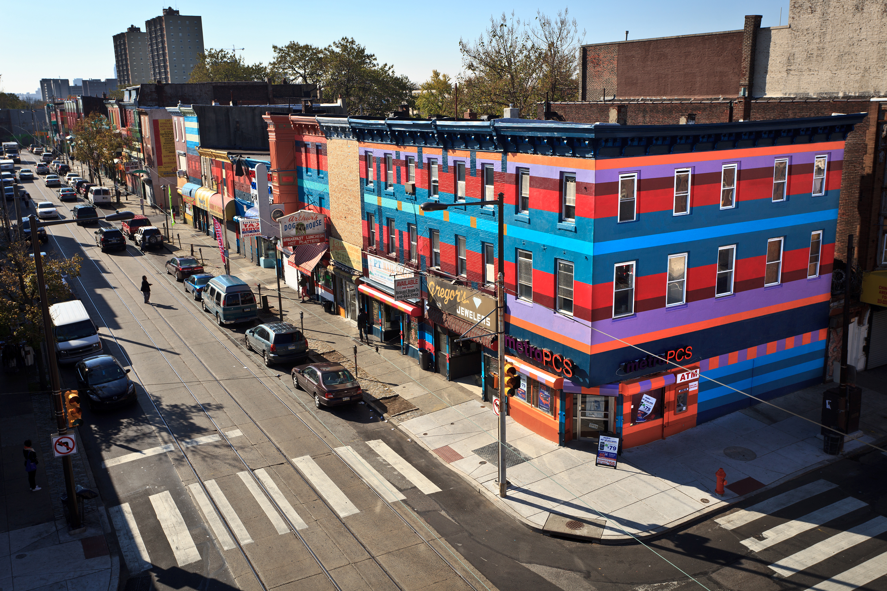 What right do muralists have to the buildings they paint for City of philadelphia mural arts program
