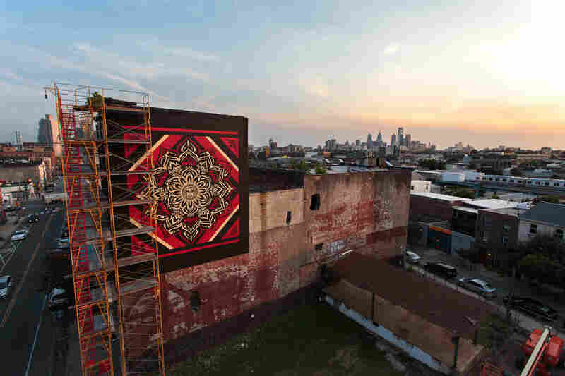 Lotus Diamond by Shepard Fairey.