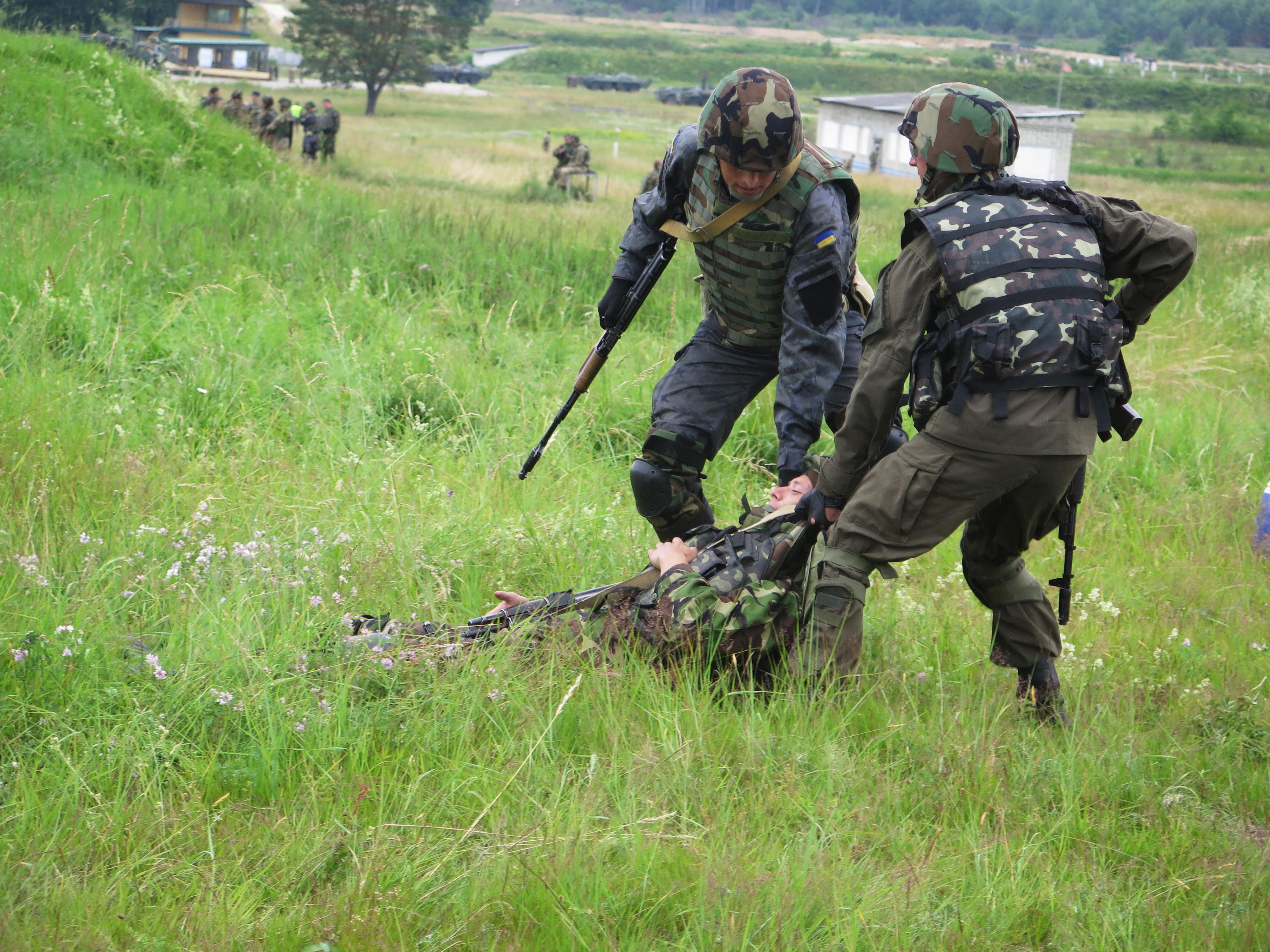 U.S. Army Begins Training Ukrainian Soldiers