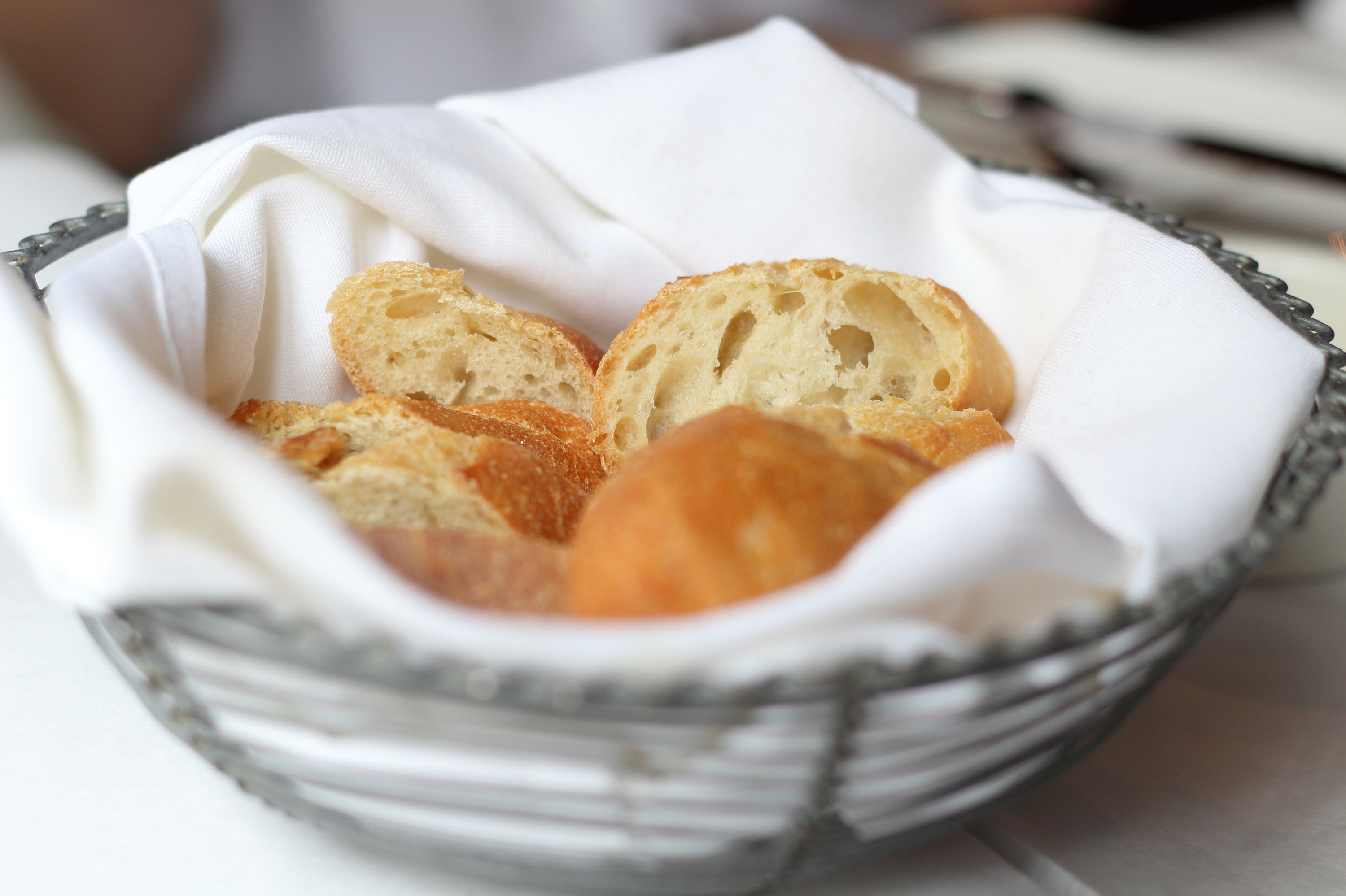 Curb Your Appetite: Save Bread For The End Of The Meal