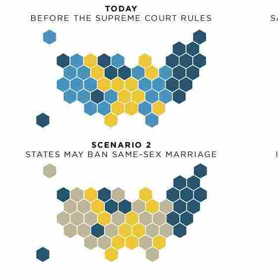 Maps: What The Supreme Court's Ruling On Same-Sex Marriage Could Mean