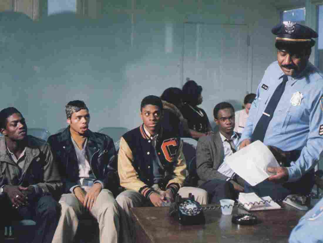 Rick Stone (left) was a gang member from Cabrini-Green who was asked to play himself in Cooley High.