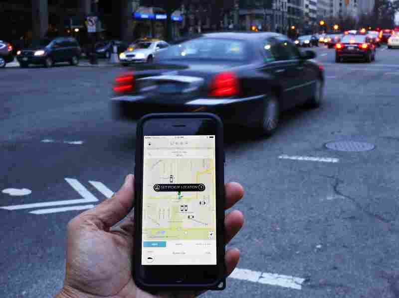 Uber drivers can chose their own hours, and decide whether or not to pick someone up.