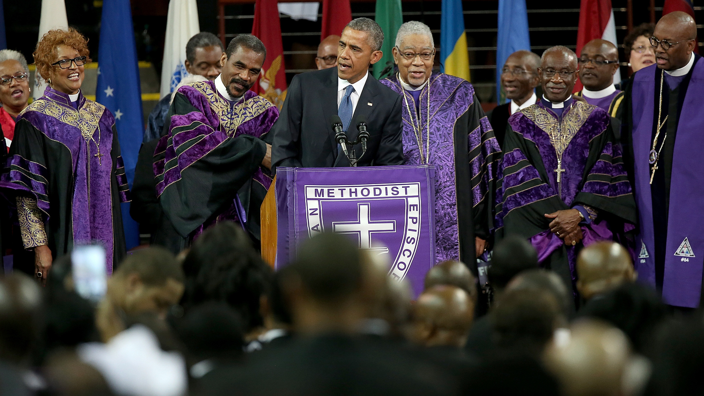 Watch: President Obama Sings 'Amazing Grace' In Eulogy ...