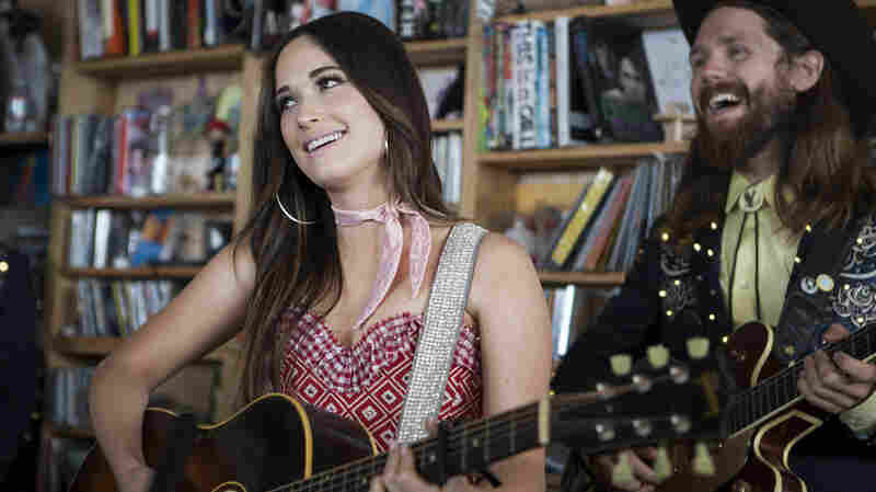 "Kacey Musgraves ends her Tiny Desk Concert with ""Follow Your Arrow"" in honor of the same-sex marriage ruling."