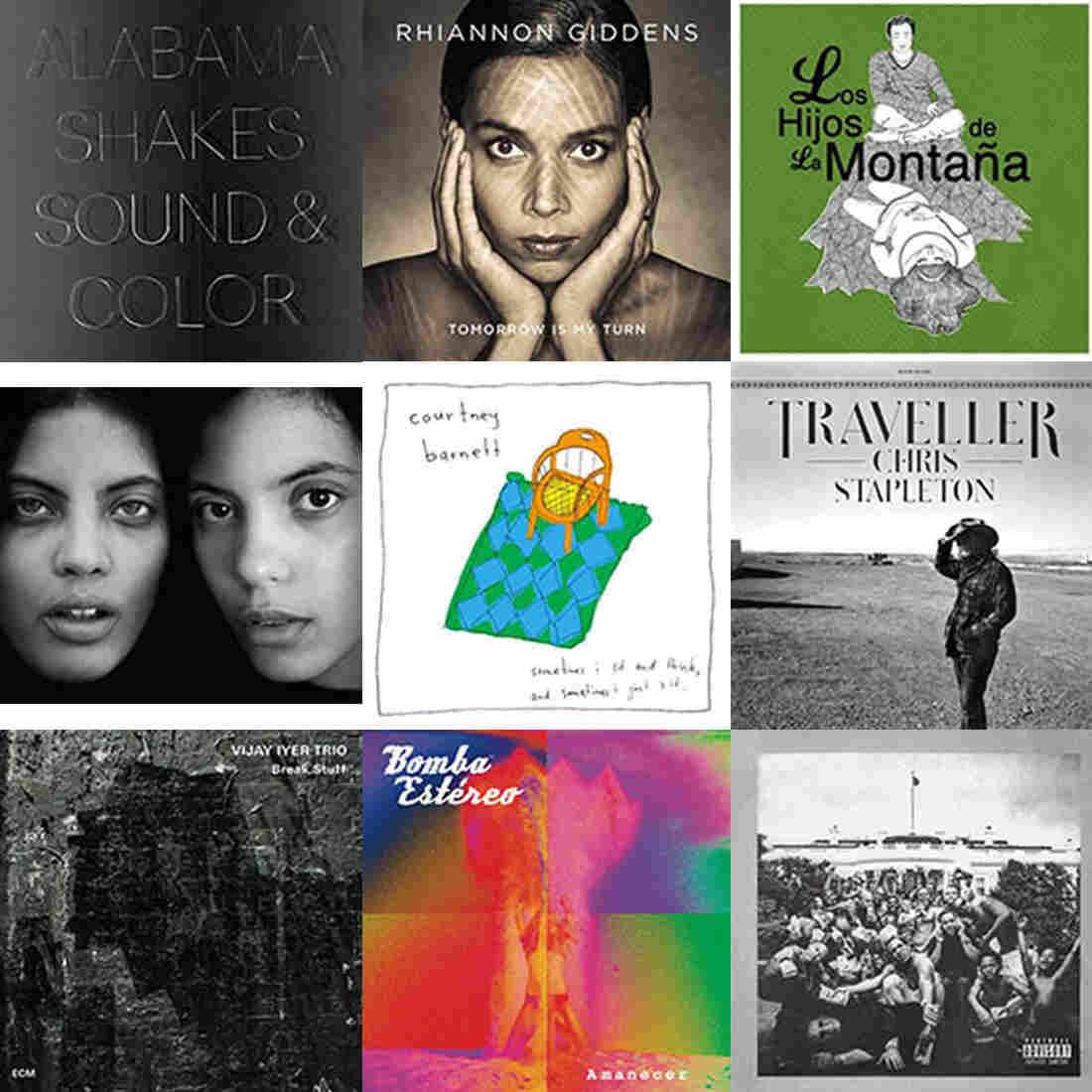 NPR Music's 25 Favorite Albums Of 2015 (So Far)