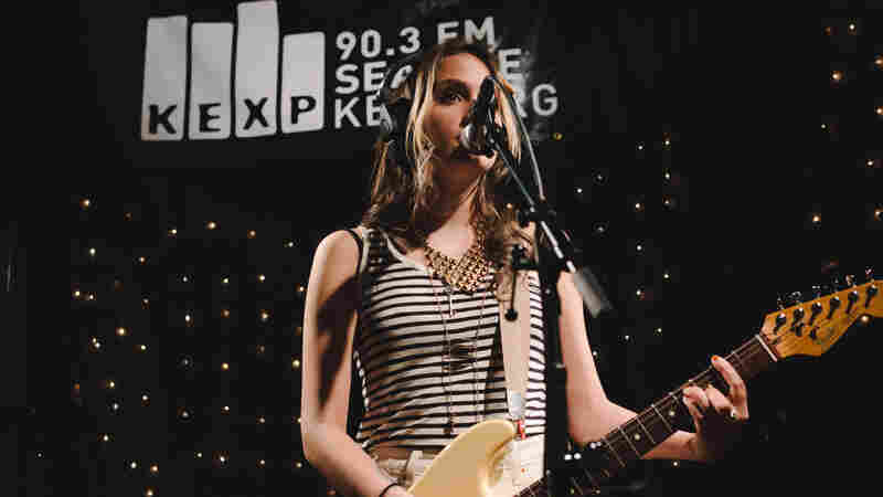 Speedy Ortiz performs live on KEXP.