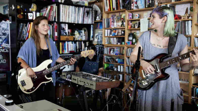 Tiny Desk Concert with And The Kids.
