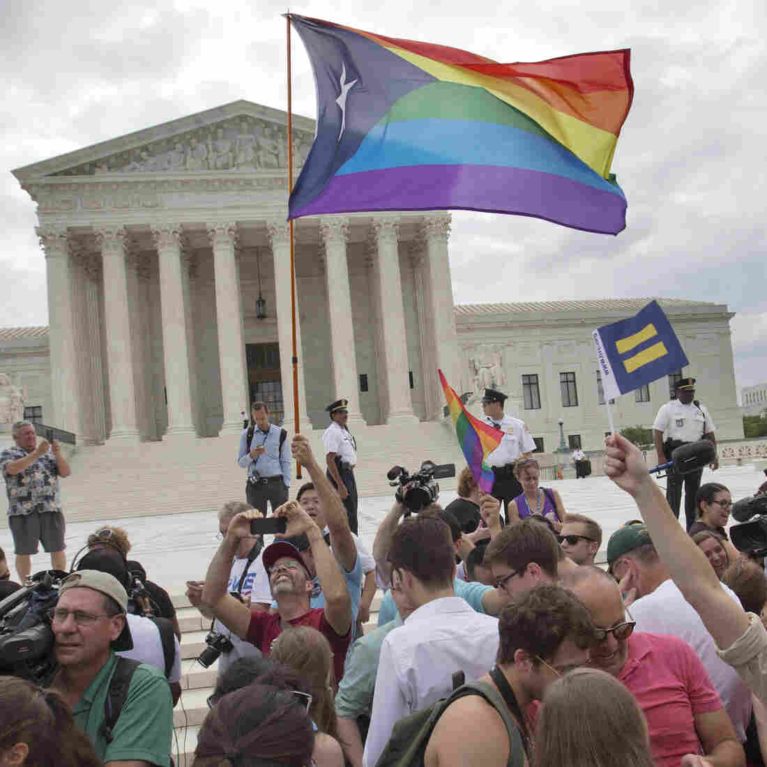 Supreme Court's Decision On Same-Sex Marriage Expected To Boost Health Coverage