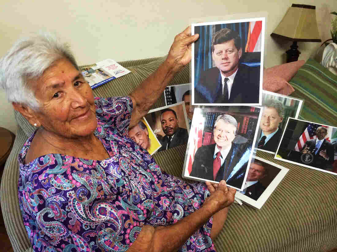 Herminia Becerra is a politiquera in Brownsville, Texas. She has worked political campaigns for nearly 60 years in the Rio Grande Valley. Becerra says she has never been indicted for election fraud, has nothing to hide, and supports candidates without compensation.